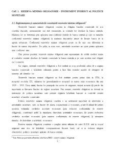 Rezerva Minimă Obligatorie - Pagina 2