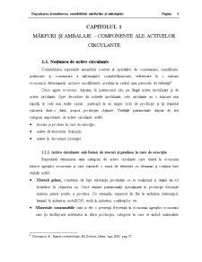 Organizarea și Conducerea Contabilitătii Mărfurilor și Ambalajelor - Pagina 4