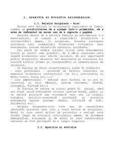 Dreptul Asigurarilor - Pagina 1