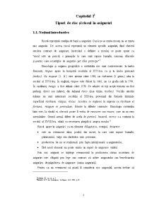 Riscul in Asigurari si Asigurarea Riscului - Pagina 2