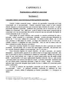 Calitatea de Comerciant în Raporturile Juridice Comerciale - Pagina 4