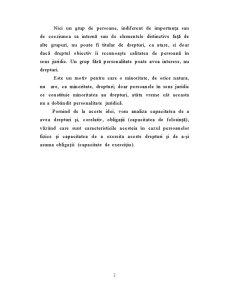 Capacitatea de Folosinta si Capacitatea de Exercitiu a Persoanei Fizice - Pagina 2