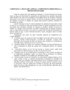 Piata Primara si Secundara de Capital - Pagina 1