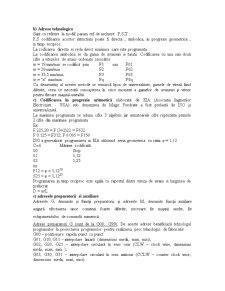 Adrese Utilizate in Programarea Manuala - Pagina 2
