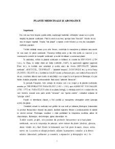 Plante Medicinale și Aromatice - Pagina 1
