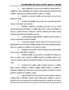 Directiile Judetene de Protectie a Minorilor Organizare, Competenta - Pagina 4