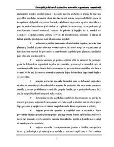 Directiile Judetene de Protectie a Minorilor Organizare, Competenta - Pagina 5