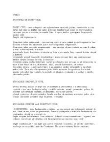 Drept Civil - Pagina 1