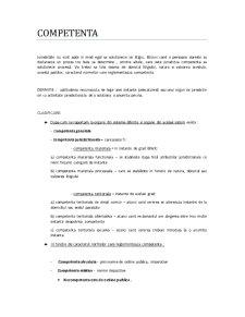 Competenta in Procesul Civil - Pagina 1