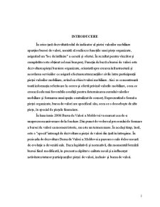 Bursa de Valori – Barometru al Economiei Nationale - Pagina 2
