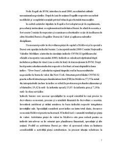 Bursa de Valori – Barometru al Economiei Nationale - Pagina 5
