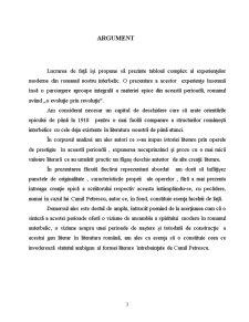 Romanul Românesc de la Începuturi până în Secolul XX - Pagina 3