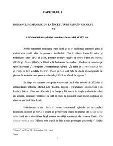 Romanul Românesc de la Începuturi până în Secolul XX - Pagina 4