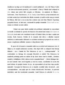 Romanul Românesc de la Începuturi până în Secolul XX - Pagina 5