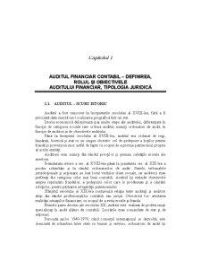 Audit Contabil și Financiar - Pagina 1