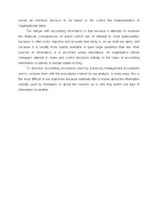 The Role of Management Accounting - Pagina 4