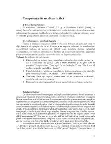 Competența de Ascultare Activă - Pagina 2
