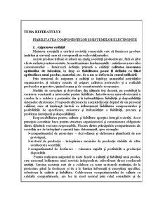 Fiabilitate și Diagnoză - Pagina 2