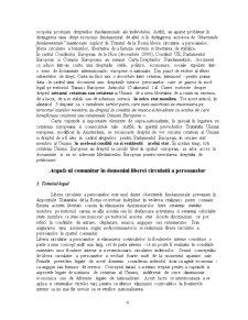 Libera Circulatie a Persoanelor in Uniunea Europeana - Pagina 4