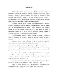 Analiza Economico Financiara - Pagina 1