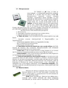 Componenta Hardware a unui Calculator - Pagina 5
