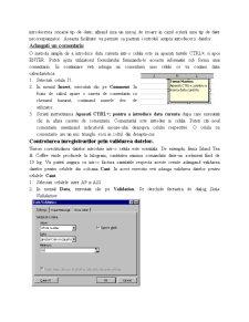 Curs Excel '97 - Pagina 4