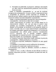 Calitatea Produselor și Protecția Consumatorilor în Relatie cu Protectia Consumatorului - Pagina 5