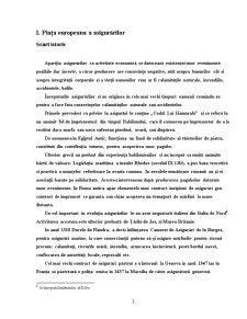 Piata Europeana a Asigurarilor si Piata Asigurarilor din Tara Noastra - Pagina 3