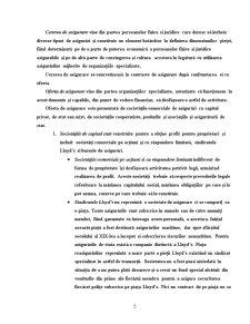 Piata Europeana a Asigurarilor si Piata Asigurarilor din Tara Noastra - Pagina 5