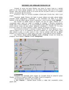 Curs Windows XP - Pagina 1
