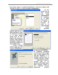 Proiect Acces Baza de Date - Piese Auto - Pagina 4