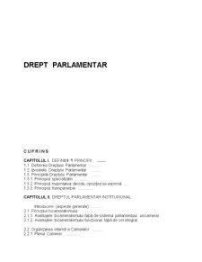 Drept Parlamentar - Pagina 2