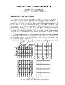 Constructii Civile cu Structura Metalica - Pagina 1