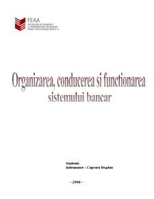 Organizarea, Conducerea si Functionarea - Pagina 1