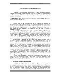 Comerțul Electronic Mobil mComert - Pagina 1