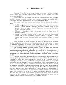 Politici de Protectie a Mediului - Studiu Comparativ Romania-UE - Pagina 2