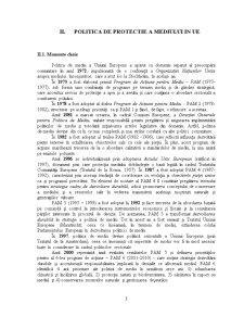 Politici de Protectie a Mediului - Studiu Comparativ Romania-UE - Pagina 3