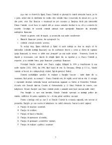 Rolul Băncii Centrale în Sistemul Bancar - Pagina 5
