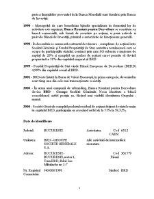 Studiul Cursului Actiunilor Societatii BRD – Groupe Societe Generale - Pagina 2