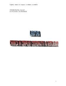 Legatura Chimica in Compusi Coordinativi ai Metalelor - Pagina 1