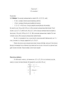 Limbaje Formale 4 - Pagina 1