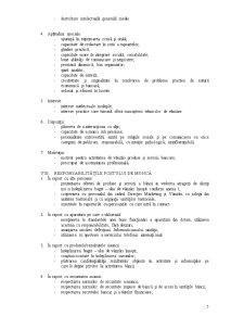 Fisa Postului - Referent Vanzari - Pagina 5