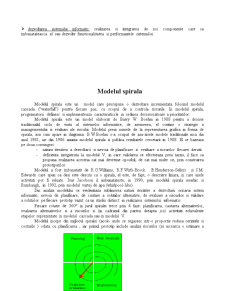 Modele ale Ciclului de Viata a unui Sistem Informatic - Pagina 2