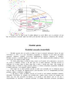 Modele ale Ciclului de Viata a unui Sistem Informatic - Pagina 4