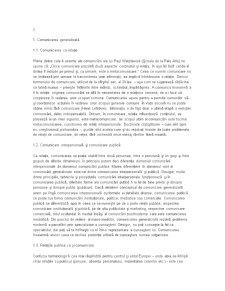 Comunicare, Comunicare Publica si Relatii Publice - Pagina 1