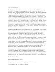 Comunicare, Comunicare Publica si Relatii Publice - Pagina 4