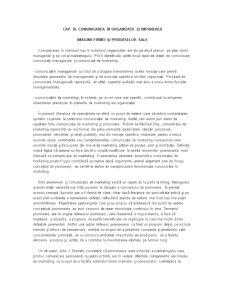 Comunicarea în Organizații și Impunerea Imaginii Firmei și Produselor Sale - Pagina 1