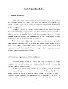 Dinamica si Impactul Asigurarilor asupra Economiei - Pagina 2