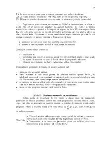 Sisteme de Operare - Gestionarea Menoriei Interne - Pagina 2