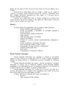 Oraganizarea Sistemului Judiciar - Parchetele de pe langa Curtile de Apel, Tribunale si Tribunale Specializate - Pagina 2